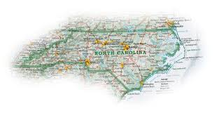 Map Of N Carolina The Greatest Paper Map Of N C You U0027ll Ever See North Carolina