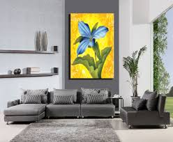 paintings for living room kaptnha 1 piece hd beautiful flowers canvas print painting artwork