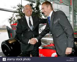 Ron Dennis Present Boss Of Mclaren Mercedes L And Martin Stock