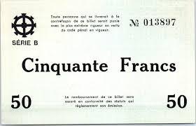 chambre commerce mulhouse banknote 50 francs mulhouse chambre de commerce série b