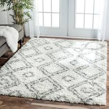 Modern Shaggy Rugs Awesome Rugs Plush Shag Rug Yylcco With Regard To Thick Area