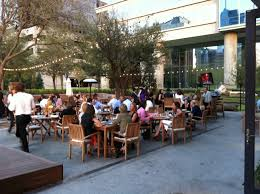 mustang restaurants restaurant review smu daily mustang patio photo