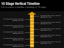 vertical timeline template for keynote and powerpoint slidevana