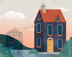 100 house gif quentin louis houses practice painting he was