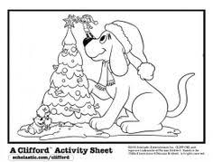 clifford coloring pages i