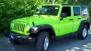 green jeep liberty 2012 used 2012 jeep wrangler unlimited 8690 southern maine motors saco