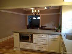 White Kitchen Cabinet Design White Kitchen Cabinets Quartz Counters Dark Stain Island Gray