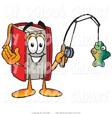 clip art of a sporty red book mascot cartoon character holding a