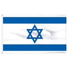 Flag Of Israel Israel 4x6ft Nylon Flag With Pole Hem Only Banner