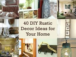 Impressive Design Ideas Rustic Decor Cheap Decorations Pinterest