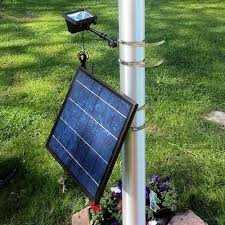 Flag Pole Lights Solar Powered 12 Led Commercial Solar Flood Light Flag Light Greenlytes