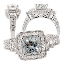 white sapphire wedding rings ten amazing white sapphire engagement rings bestbride101