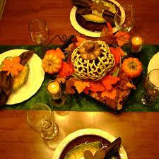 dinner table decoration decorating lovely thanksgiving table decoration for your dining