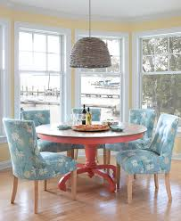 cottage dining table set dining room furniture painted solid wood cottage style colorful