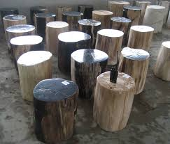 Unusual Home Decor Petrified Wood Stools Indogemstone Unusual Home Decor