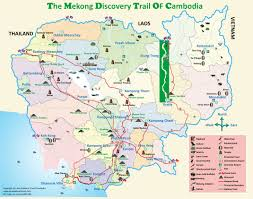 Mekong River Map Asia Explorer Travel Cambodia Explore Undiscovered Asia