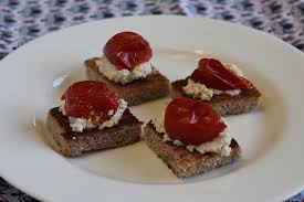 appetizer canape smoked tofu pate canapes vegan appetizer recipes the