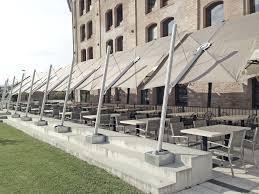Offset Patio Umbrella by Offset Patio Umbrella Commercial Fabric Aluminum Spectra