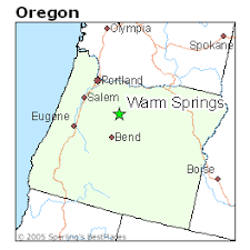 map of oregon springs best places to live in warm springs oregon