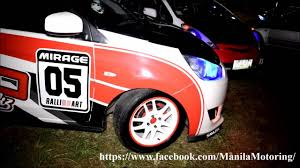 mitsubishi sticker design customized mitsubishi mirage g4 hatchback spotted youtube