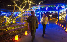 christmas lights wichita ks botanica s holiday display glows grows the wichita eagle