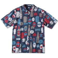 o u0027neill brews print woven shirt great gifts for beer lovers
