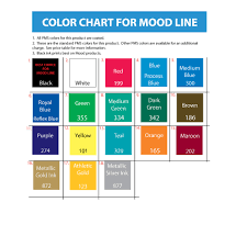 color mood chart trend color chart moods gallery 2510