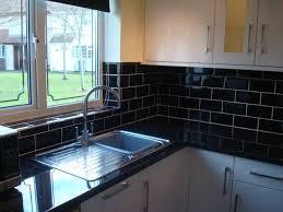 black kitchen tiles ideas black kitchen tile photo 3 beautiful pictures of design