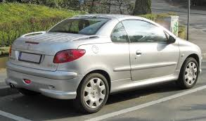 used peugeot 206 cc file peugeot 206cc facelift rear jpg wikimedia commons