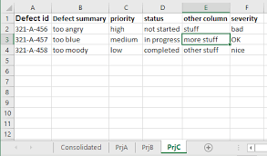 vb net how to consolidate data of specific columns from multiple