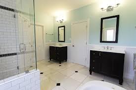 Wainscoting Bathroom Vanity Bathroom Remodel In Haymarket Va By Ramcom Kitchen U0026 Bath