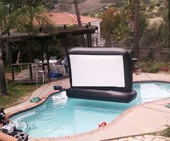 floating movie screen