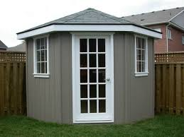 Backyard House Shed by Best 25 Corner Sheds Ideas Only On Pinterest Corner Summer