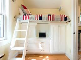 Bunk Beds With Desk And Storage by White Loft Bed With Desk And Storage U2013 Home Improvement 2017