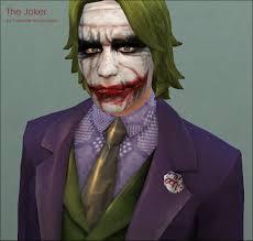 the joker halloween costume for men mod the sims heath ledger as the joker