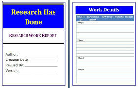 daily work report template work report template free business template