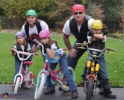 Biker Halloween Costume Biker Gang Family Halloween Costume