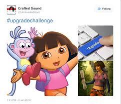 Dora The Explorer Meme - dora the explorer upgradechallenge know your meme