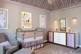 Purple Nursery Decor Purple And Gray Nursery Transitional Nursery Crown