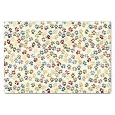 paw print tissue paper paw print craft tissue paper zazzle