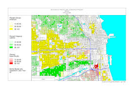 Map Of Downtown Chicago Chicago 1990 Census Maps