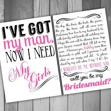 bridesmaids invitation will you be my bridesmaid invitation printable bridal party