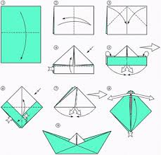 How To Make Boat From Paper - recycled crafts for how to make paper boat diy is