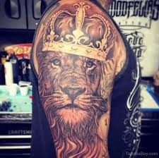 and crown on half sleeve designs pictures