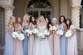 bridal party dresses mismatched bridesmaid dresses the easy way a practical wedding