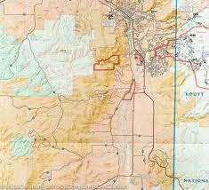 Colorado Springs Trail Map by Trail Map Of Steamboat Springs Rabbit Ears Pass Colorado