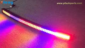 50 inch curved multi color change light bar