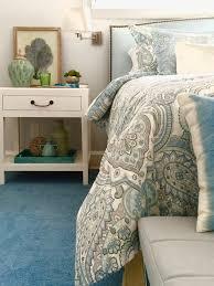 springtime blues serene guest bedroom mini makeover memehill
