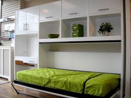 bedroom pull out bed for small space be equipped with white