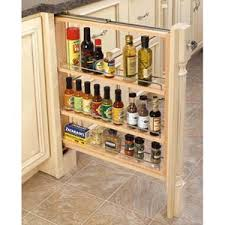 6 inch spice rack cabinet 6 inch base filler pull out spice rack